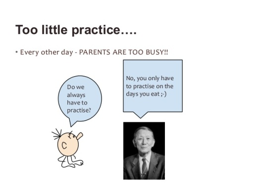 practice quote cartoon