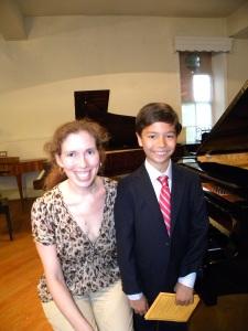 Recital at Cunningham Piano Company